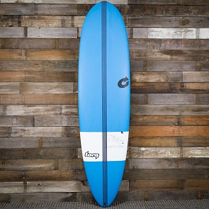 Torq TEC M2 XL 7'6 x 21 1/2 x 2 3/4 Surfboard - Blue/White - Deck