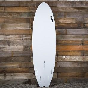 Torq Mod Fish 6'3 x 20 1/2 x 2 1/2 Surfboard - Grey/Blue/Blue