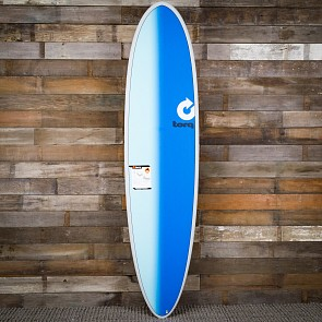 Torq Mod Fun 7'6 x 21 1/2 x 2 7/8 Surfboard - Grey/Sand/Blue - Deck