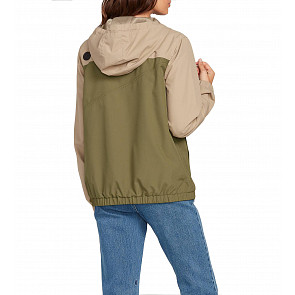 Volcom Women's Enemy Stone Jacket - Dusty Green