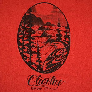 Cleanline Eagle Sweatshirt - Brick