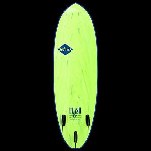 Softech Eric Geiselman 5'7 Soft Surfboard - Green Marble