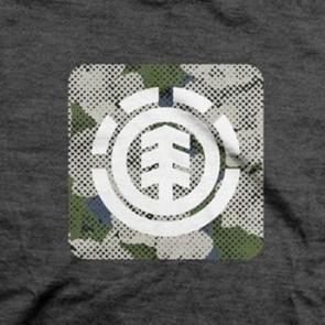 Element Icon Fill T-Shirt - Tar Heather