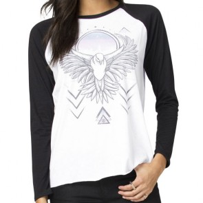 Element Women's Urban Bird Raglan Top - White