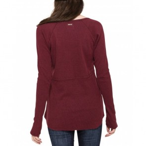 Element Women's Hike Long Sleeve Top - Napa Red