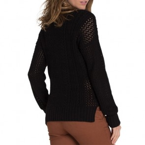 Element Women's Voyage Sweater - Black
