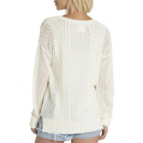 Element Women's Voyage Sweater - Ivory