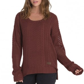 Element Women's Voyage Sweater - Stable Brown