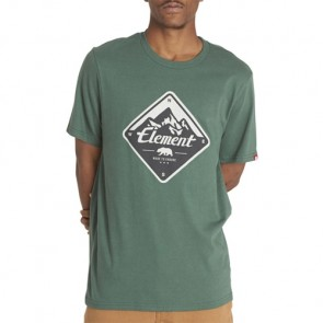 Element Route T-Shirt - Hunter Green