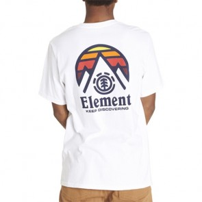 Element Tri Tip T-Shirt - Optic White