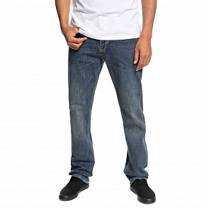 Quiksilver Sequel Jeans - Medium Blue