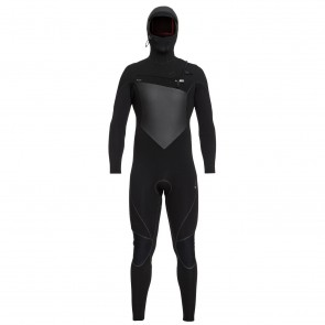 Quiksilver Highline Plus 5/4/3 Hooded Chest Zip Wetsuit - Front
