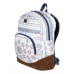 Roxy Women's Fairness Backpack - Marshmallow Alabama Border
