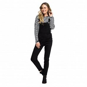 Roxy Women's Magical Thinking Overall Jeans - Black