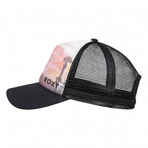 Roxy Women's Dig This Trucker Hat - True Black
