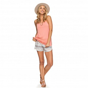 Roxy Women's Romantic Way Strappy Tank - Lobster Bisque