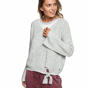 Roxy Women's See You In Bali Sweater - Heritage Heather