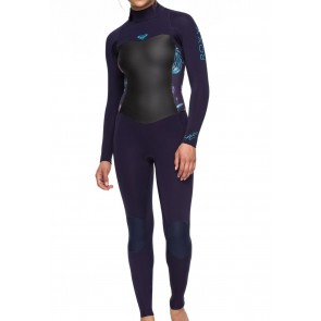 Roxy Women's Syncro 5/4/3 Back Zip Wetsuit - Blue Ribbon