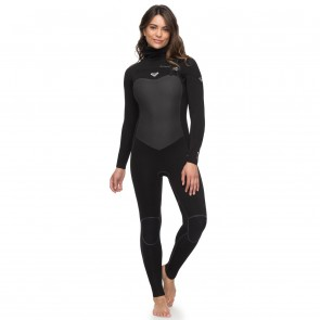 Roxy Women's Performance 5/4/3 Hooded Chest Zip Wetsuit