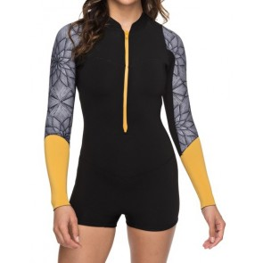 Roxy Women's Pop Surf 2mm Short Sleeve Spring Wetsuit