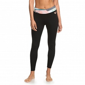 Roxy Women's Pop Surf 1mm Capri Surf Leggings - Black