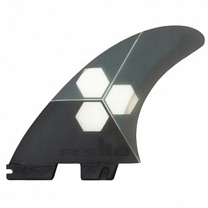 FCS II AM PC Tri Fin Set - Medium - Grey