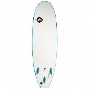 Softech Handshaped 7'0 Soft Surfboard - Soft Sky