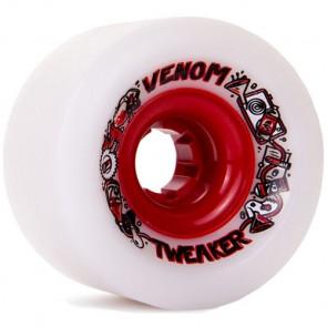 Venom 70mm Tweaker Wheels - White/Red