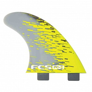FCS Fin PC2 Tri Fin Set - Acid Smoke