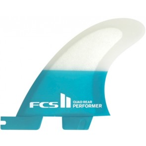 FCS II Fins Performer PC Small Quad Rears Fin Set - Right Side