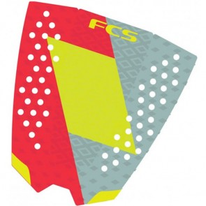FCS Filipe Toledo Traction - Red/Lime/Slate