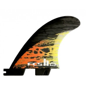 FCS II Fins MB PC Carbon Small Tri Fin Set