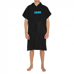 FCS Poncho Changing Towel - Black