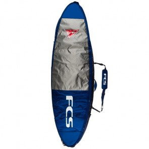 FCS Double Travel All Purpose Surfboard Bag - Deep Ink