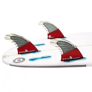 FCS II Fins Accelerator PC Carbon Large Tri Fin Set