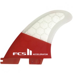 FCS II Fins Accelerator PC Medium Tri Fin Set