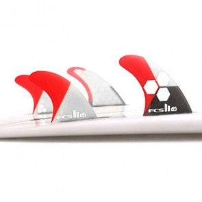 FCS II Fins AM PC Medium Tri-Quad Fin Set
