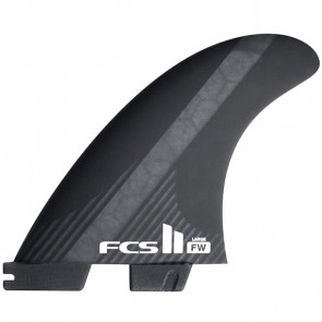 FCS II Fins FW PC Carbon Large Tri Fin Set