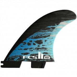 FCS II Fins MB PC Carbon Large Tri-Quad Fin Set