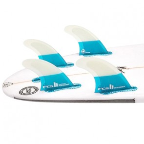 FCS II Fins Performer PC Small Quad Fin Set