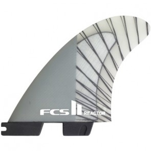 FCS II Fins Reactor PC Carbon Large Tri Fin Set