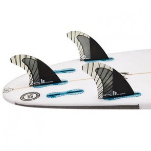 FCS II Fins Reactor PC Carbon Small Tri Fin Set