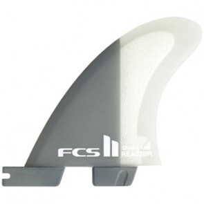 FCS II Fins Reactor PC Medium Quad Rears Fin Set