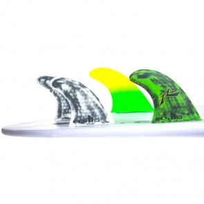 FCS II Fins RP PC Medium Tri-Quad Fin Set