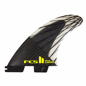 FCS II Carver PC Carbon Large Tri Fin Set