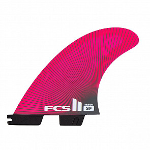 FCS II Fins Sally Fitzgibbons PC Medium Tri Fin Set - Pink