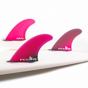 FCS II Sally Fitzgibbons PC Medium Tri Fin Set - Pink