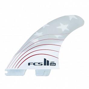 FCS II Fins USA PC 4th Of July Large Tri Fin Set