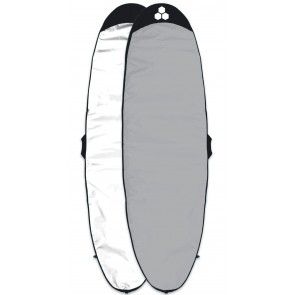 Channel Islands Feather Lite Longboard Surfboard Bag - White/Silver