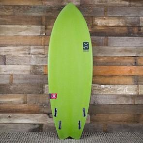 Firewire Seaside Helium 5'7 x 21 5/8 x 2 1/2 Surfboard - Avocado